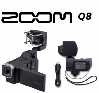ZOOM Q8 handy HD Video Recorder /Outdoor Camera